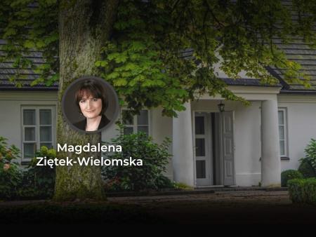 Magdalena Ziętek-Wielomska artykuł z cyklu Polski dom w czasopiśmie pt Nowoczesna Myśl Narodowa