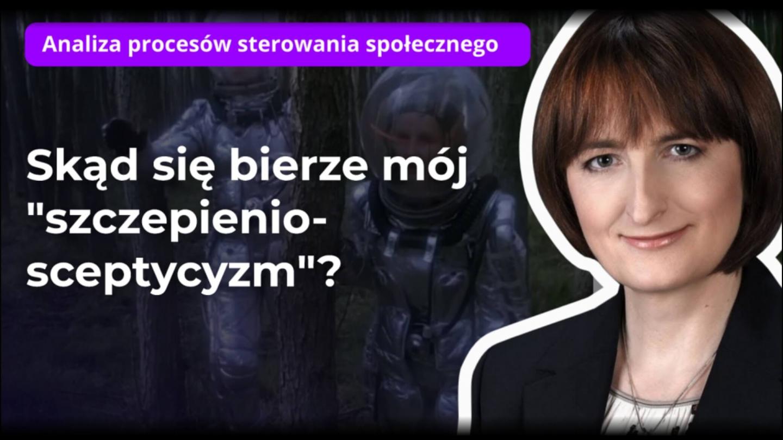 Magdalena Ziętek-Wielomska Analiza procesów sterowania społecznego nagranie na YouTube