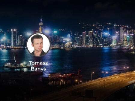 Tomasz Banyś artykuł w czasopiśmie Nowoczesna Myśl Narodowa pt Dziejowa Szansa Chiny noc miasto